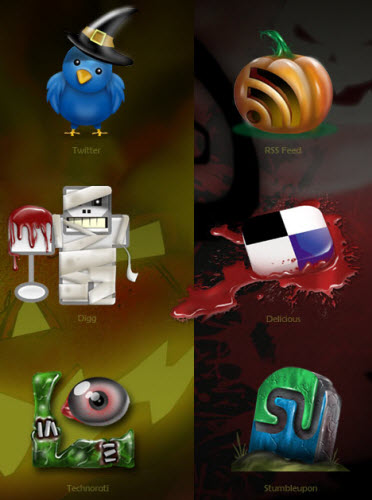 Halloween Icons from TNerd.com