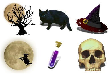 Witchery Icons by Cavemanmac