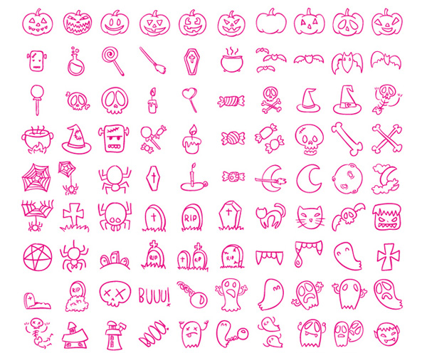 PNG & SVG Halloween Icons
