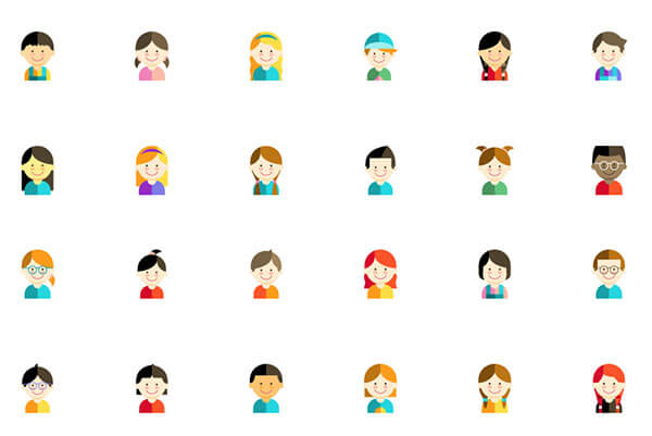 Kid Avatars Icon Pack