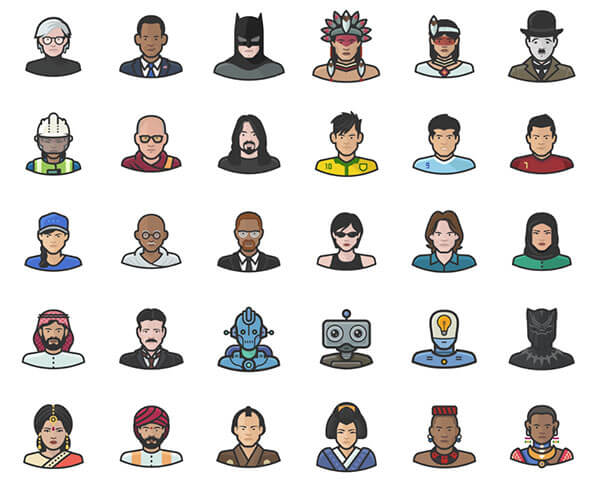 30 Avatars for Free