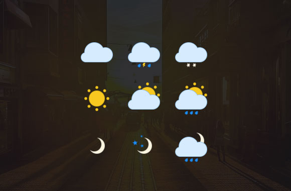 Weather Icons by Dragos