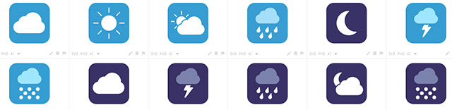 TheWeather SVG