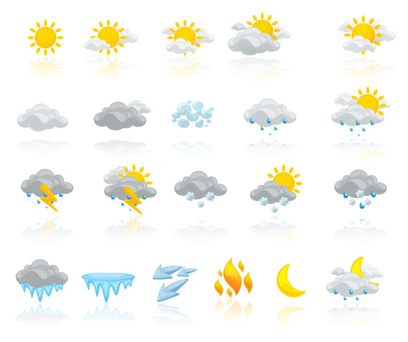 Pathfinder Weather IconsPack by Antonist