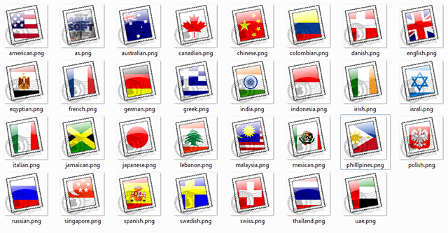 Country Stamps