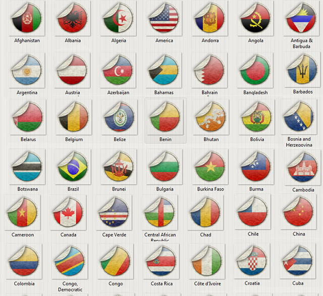 World flags by Memo-Designer