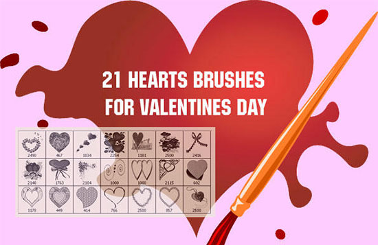 Valentine 2010 PS Brushes