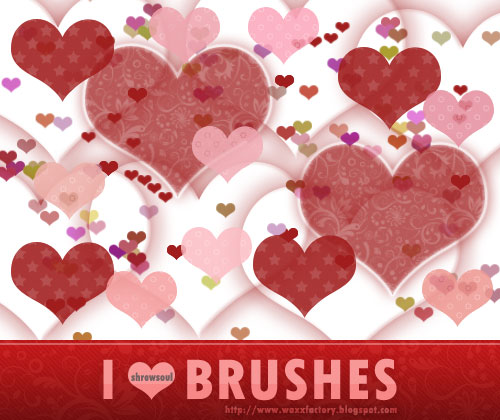 I heart Brushes by Shrewsoul