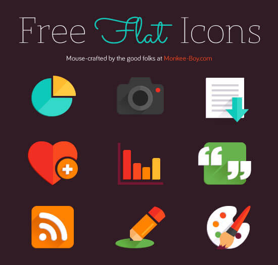 Freebie Friday: Flat Icons