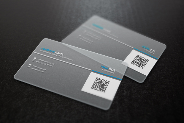 Transparent Business Card