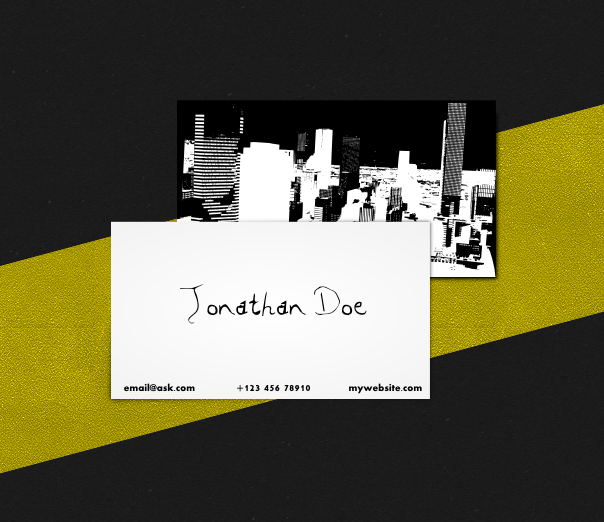 Urban Business Card Template