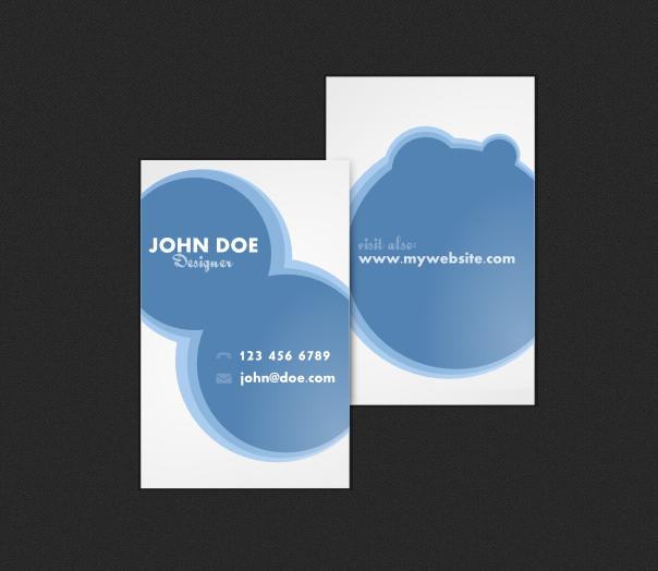 Neat Business Card Template