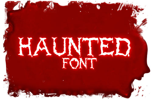 Free Haunted Font Download