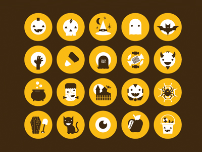 Halloweeny Icons