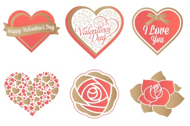 Valentine Icons by DesignBolts