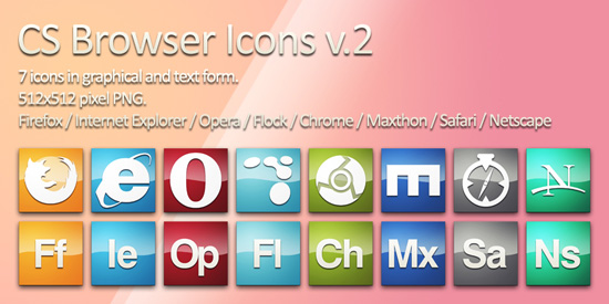 CS Browser Icons
