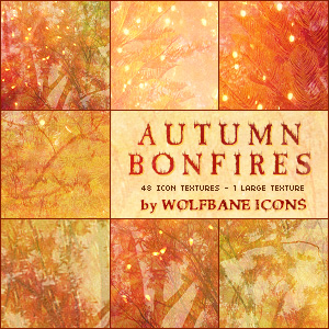 Autumn Bonfires Texture Set