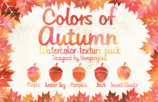 Colors of Autumn Texture Pack