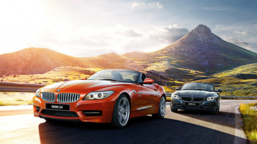 BMW Z4 and E89