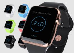 мокапы Apple Watch