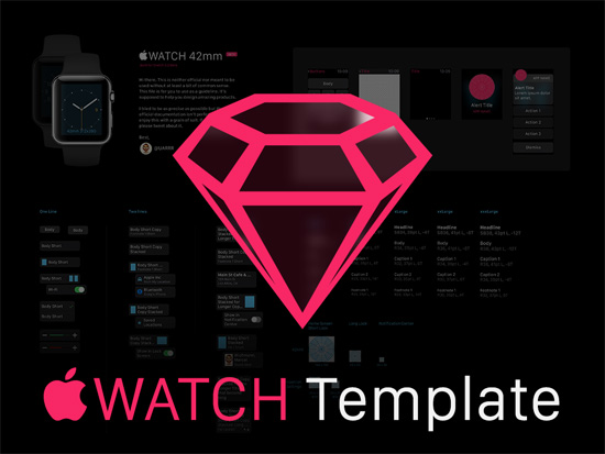 GUI Sketch Template