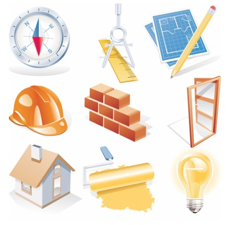 Site construction icons