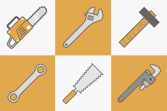 Free Tools Vector Icons
