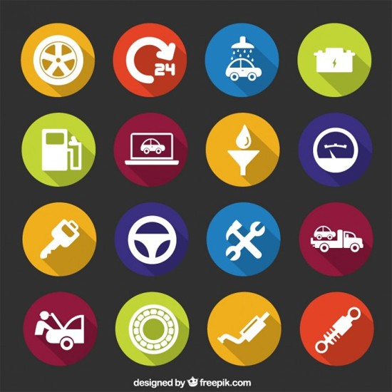 Mechanic icons Free