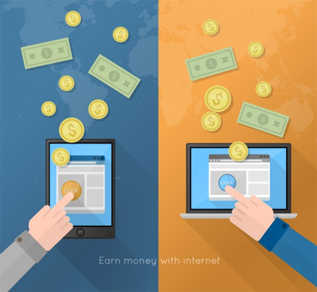 Earn money with internet