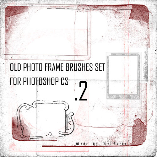 Old Photo Frame Brushes 2