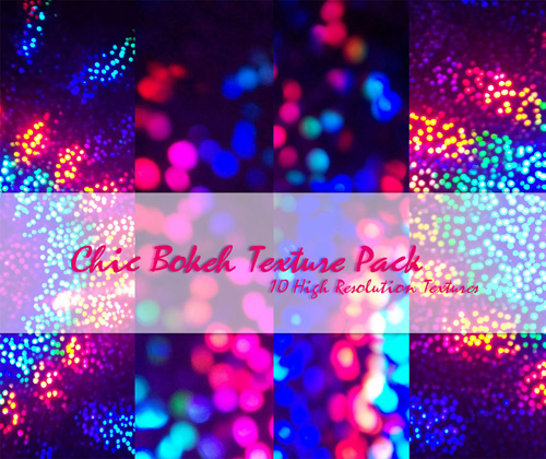 Chic Bokeh Texture Pack
