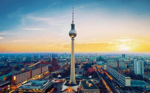 Berlin TV Tower Germany