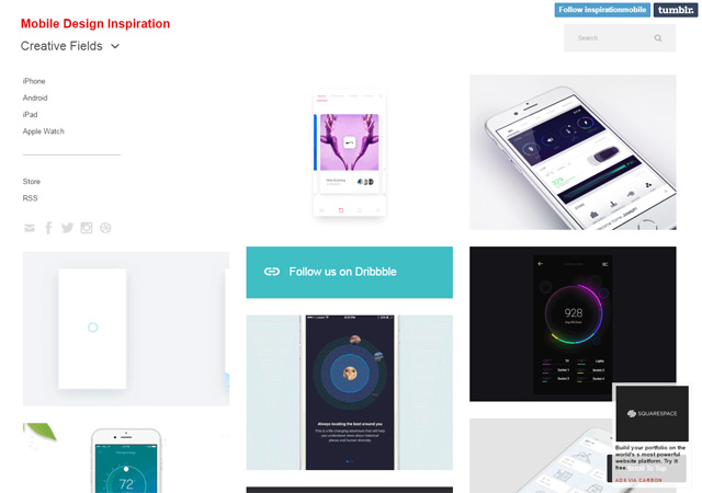 Mobile Design Inspiration