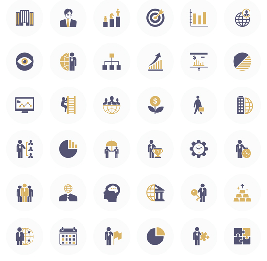 36 Business Flat Icon