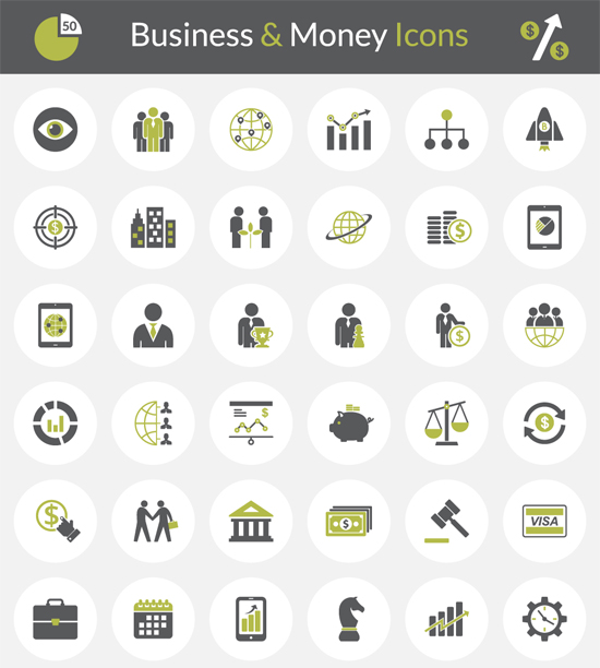 Free Business/Money Icons