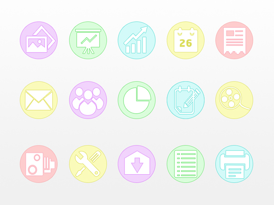 Business Iconset
