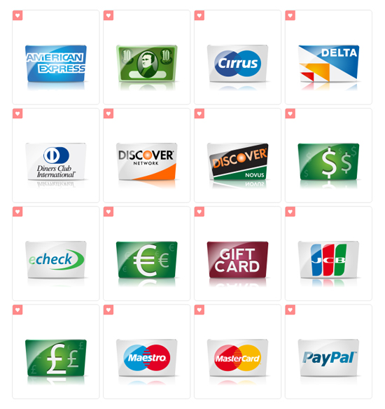 Creditcard Icons