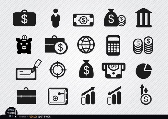 Business/Financial Iconset