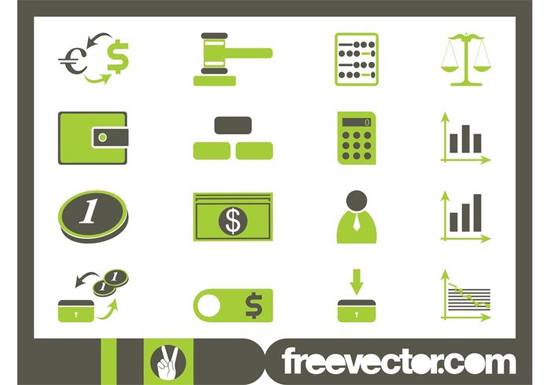 Financial Iconset