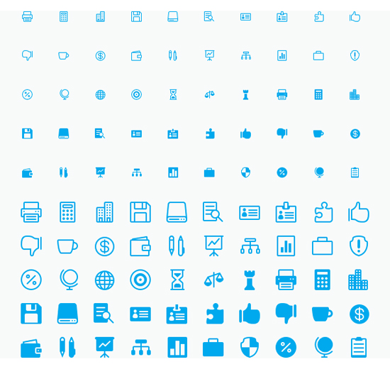 Elegant Iconfont Updated