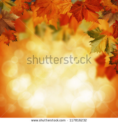 Autumnal abstract backgrounds