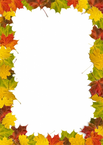 Autumn Leaves Border HD