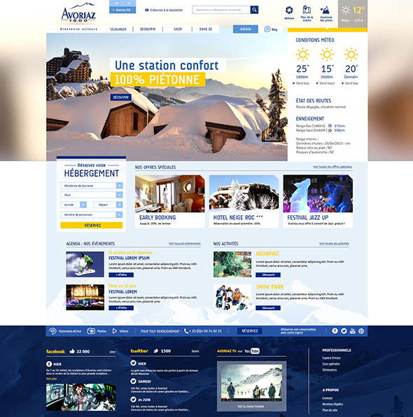 Avoriaz Website