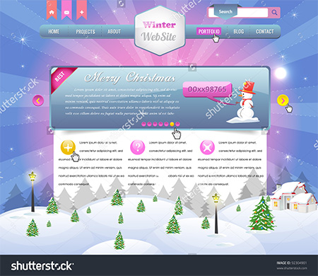 Winter Website