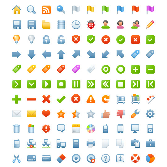 Blueberry Basic icon sets
