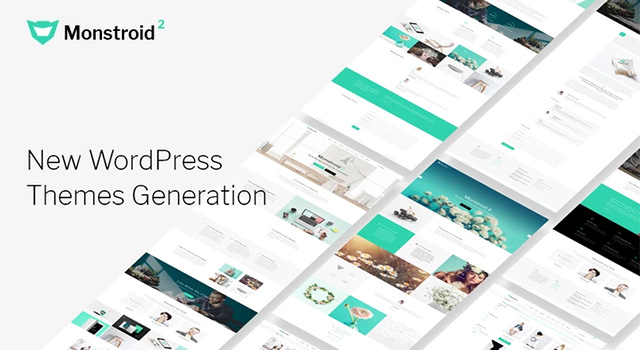 Monstroid 2 - универсальный шаблон WordPress