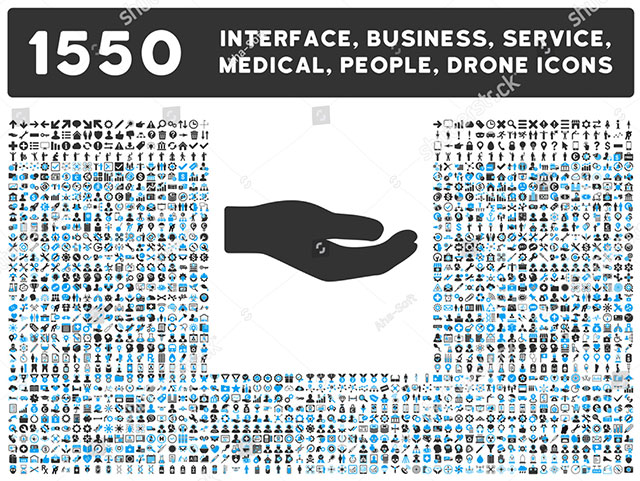 Interface / Business / Tools Mini Icons