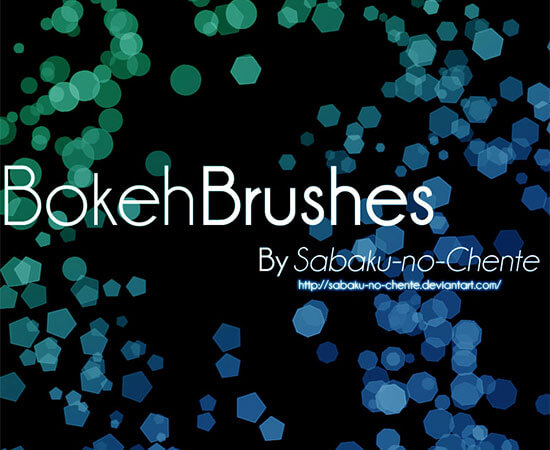 Bokeh Brushes by Sabaku-no-Chente