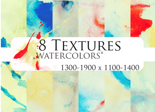 8 Textures by Sabinefischer