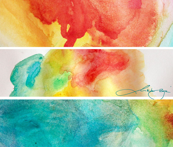 Large Watercolor Pictures